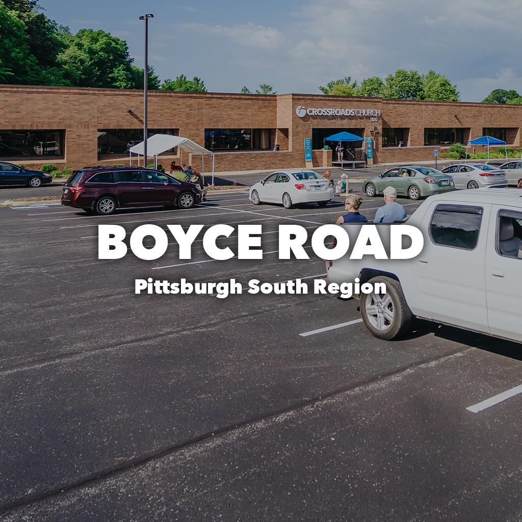 Boyce Road Pittsburgh South Region