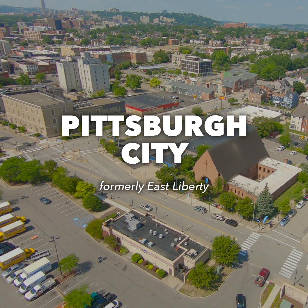 East Liberty Pittsburgh City Region